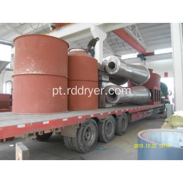Silicone Sand Spin Flash Drying Machine