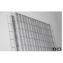 Anping Factory 3D Wire Mesh Panel Preço