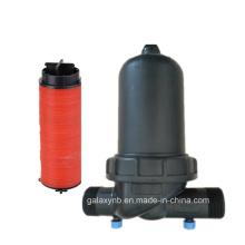 Ringer reforzado con filtro de plástico durable para irrigación