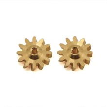 Kuningan kecil Worm Gear Mini Precision Worm Gear