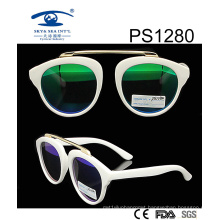 Fashion White Frame Kid Plastic Sunglasses (PS1280)