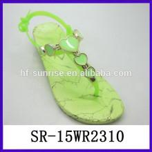 Fashion Air Blowing PVC Sandalen Melissa Gelee Schuhe Kunststoff Gelee Schuhe Gelee Schuh