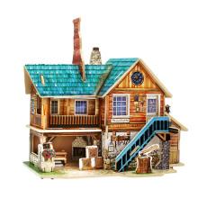 Juguete de coleccionables de madera para casas globales-artesanías americanas