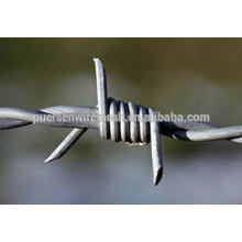 Cheap Double Twist aço calibre 14 galvanizado arame farpado