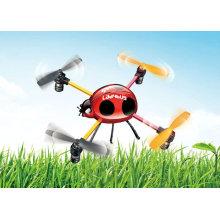 2.4G 4 Canais Mini LadyBird RC UFO Brinquedos com controle de LCD (New Arriving)