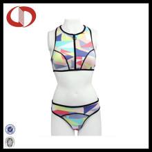 Hot Design Juventude Logo Mulheres Logo Swimwear Bikini Wholasale
