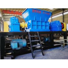 Nouvelle technologie Equipement de broyeur de métaux pour déchets d'acier