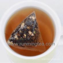 Sacs à thé à pyramide biodégradable au PLA