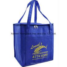 Promocional personalizado no tejidos aislados Cooler Tote Bag