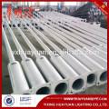 2m-20m galvanized steel lamp post/tubular steel street light pole price