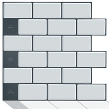 Smart kitchen backsplash 3d mosaic stick on tiles