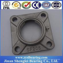 304 venda quente de aço inoxidável Bom Preço Quadrado forma rolamento de esferas bloco sf205