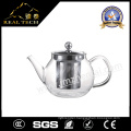 Hot Selling Useful Christmas Gift Relax Blooming Tea Clear Glass Arabic Teapot