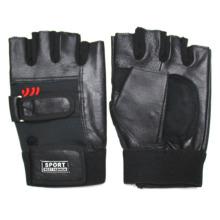 Men′s Fashion Genuine Leather Fingerless Baseball Sports Gloves (YKY5035)