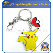 Venda quente Pokemon Metal Keychain