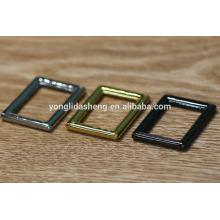 Bolsa de correa hebilla, accesorios de metal personalizado para bolsos