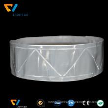 dongguan günstigen preis 3m pvc warnung reflektierende band wasserdicht