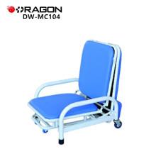Fauteuil pliant d'hôpital accompagnant la chaise