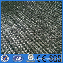Diamond hole Barbed wire mesh fence