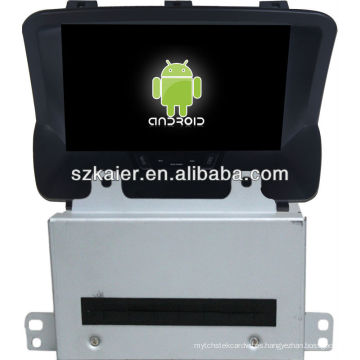 Reproductor de DVD del coche Android System para Buick Encore con GPS, Bluetooth, 3G, iPod, juegos, zona dual, control del volante
