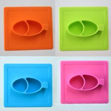 Пищевой Стандарт FDA фруктовый десерт Снэк-детские силиконовые мат