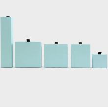 Presentar cajas de presentación de almacenamiento para collares de joyería