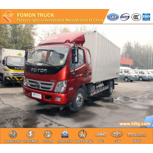 FOTON 4X2 85hp 5tons van lorry