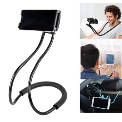 Lazy Neck Phone Tablet Holder Handsfree Mount