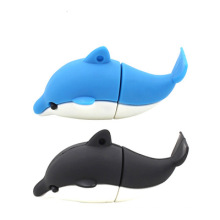Dolphin PVC USB Flash Drive Customized