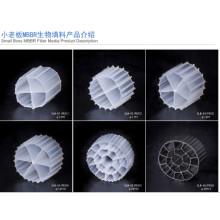 Medios medios del filtro de Bio Media del embalaje de la torre PE Bio Cel / medios de filtro de la charca