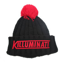 Wholesale Top Quality Acrylic Fabric Custom Knitted Beanies