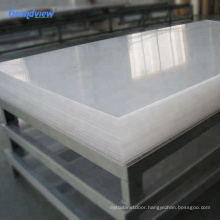 4.5mm 4x8 feet clear extrusion acrylic sheet  for laser cut