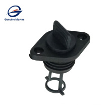 Black ABS Plastic Drain Plug Kit For Boat Marine Yacht
