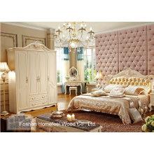Klassische weiße Farbe Schlafzimmermöbel (HF-MG815)