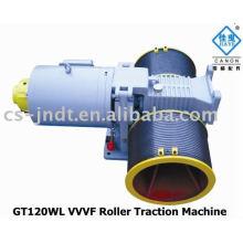 Máquina de la tracción del elevador de rodillo VVVF GT120WL