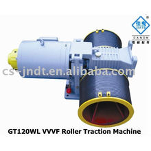 GT120WL VVVF Roller passenger Elevator Traction Machine