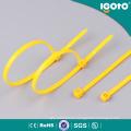 Fabricante de la atadura de cables de nylon autobloqueada del alambre