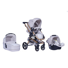 2016 New Luxury 3 in 1 Baby Stroller En1888