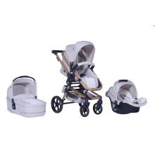 2016 novo luxo 3 em 1 carrinho de bebê En1888