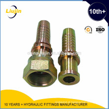 Com 2 anos de garantia fornecimento de fábrica de alta pressão hidráulica acessórios para tubos de mangueira hidráulica montagem de uma peça de montagem