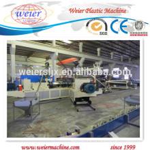PVC водоустойчивая производственная линия листа