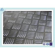 Aluminio Plateado a cuadros1100 3003 5052 6061