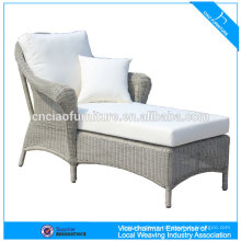Outdoor Garden Lounge Bed With Arms