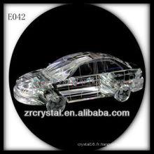 Modèle de trafic de cristal délicat E042
