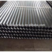 Los perfiles de quilla de acero ligero galvanizado del canal de mampostería C Metal Stud y Track