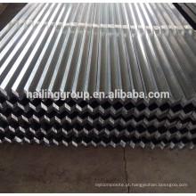 A quilha de aço clara galvanizada C do canal do Drywall perfila o parafuso prisioneiro e a trilha do metal