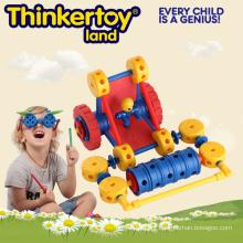 Boy Park carro plástico brinquedo de jardim de bloqueio para crianças