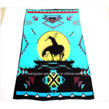 100% Polyester Printed Fleece Blanket with Native Design