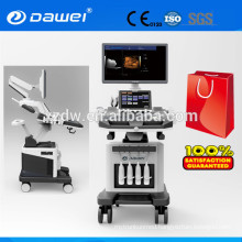 Cardiac Trolley Color Doppler Ultrasound Machine Price Medical Sonar 2D 3D 4D Echocardiography Machine