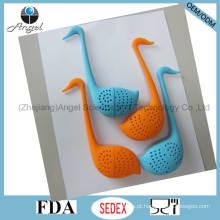 Moda Little Swan Chá De Silicone Infuser Tea Bag St09